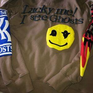 Kids See Ghosts camel sweatshirt 👻
